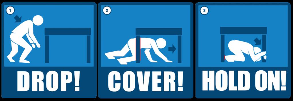 tips saat terjadi gempa bumi