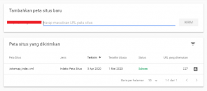 google search console adalah