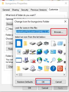 cara mengganti icon folder di windows 10