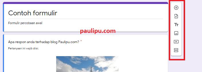 cara buat google form