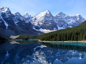 Gunung Rocky di Kanada