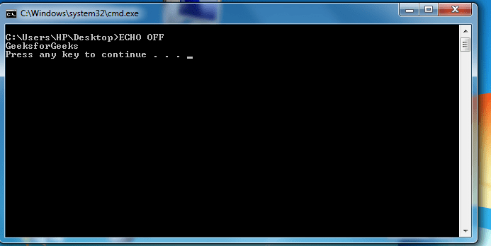 batch file