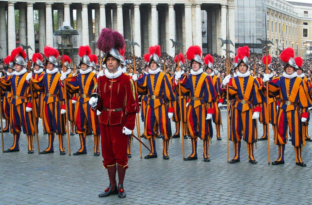 pasukan garda swiss vatikan