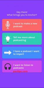 cara buat podcast dengan Anchor