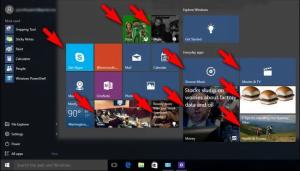 cara nonaktifkan iklan di start menu Windows 10