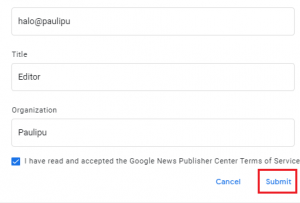 Cara Daftar Di Google News