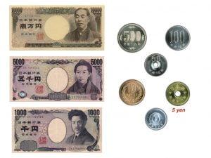 contoh uang kartal Jepang