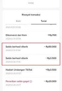 cara dapat uang dari tiktok