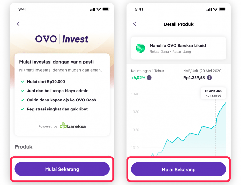 Cara Beli Reksadana di OVO Invest