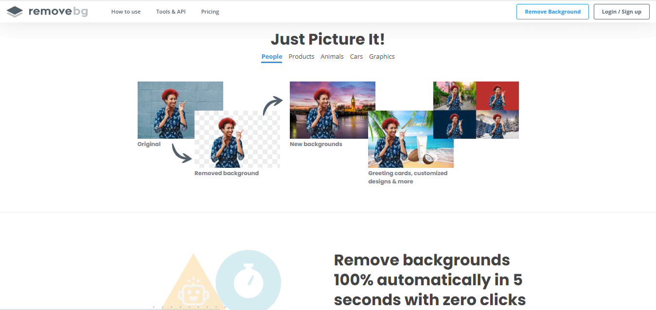 Cara Hapus Background Foto Online dalam 1 Detik