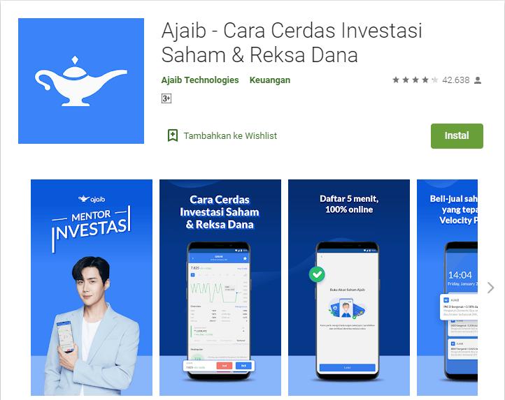 Aplikasi Investasi Terbaik