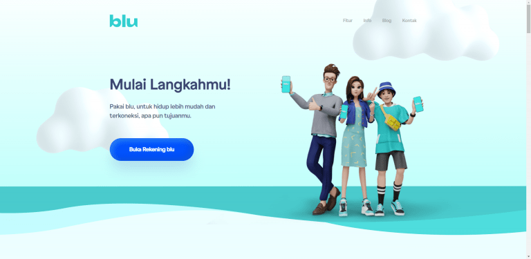 Cara buka rekening Blu by BCA Digital
