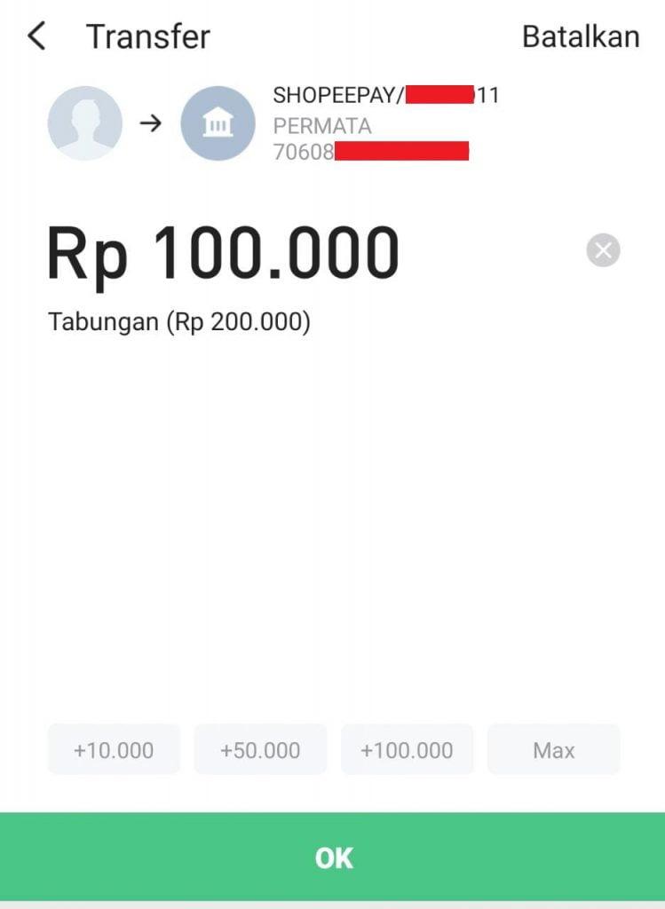 Cara Transfer Saldo Line Bank ke DANA, OVO, Gopay dan ShopeePay