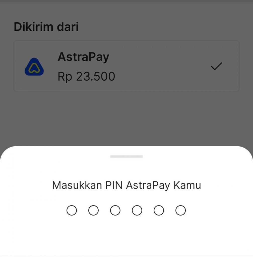 Cara Transfer AstraPay ke Gopay atau Gopay ke AstraPay