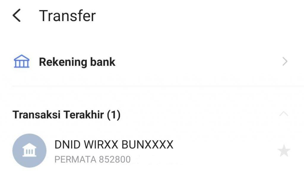 Cara Transfer Line Bank ke LinkAja