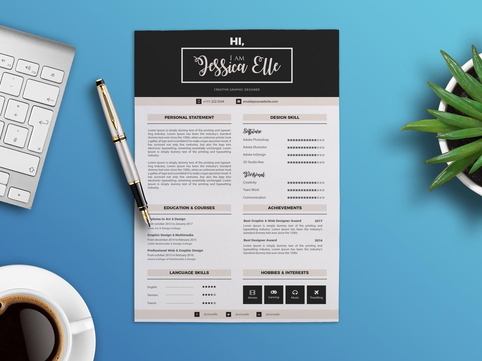 Pengertian, Cara dan Contoh CV Bahasa Indonesia dan Inggris