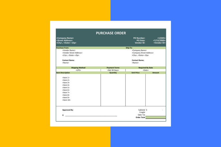 Pengertian, Fungsi, Cara Buat dan Contoh Purchase Order