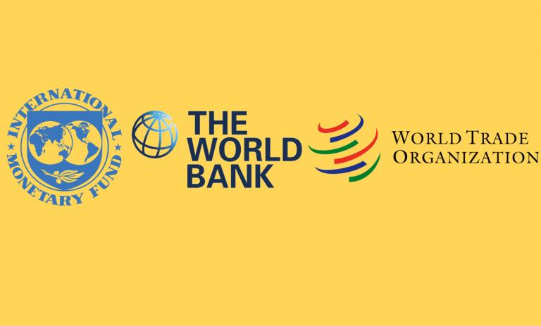 Perbedaan IMF, World Bank dan WTO